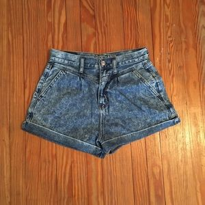 NWOT American Eagle Acid Wash Jean Shorts 2